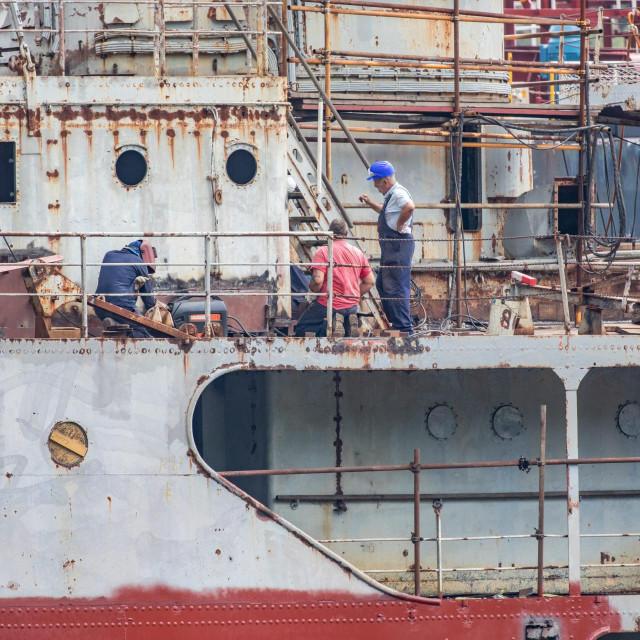 "Restauracija ""Galeba"" u brodogradilištu Viktor Lenac"
