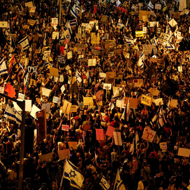 Prosvjednici u Izraelu