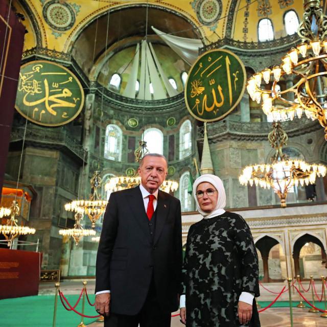 Recep Tayyip Erdogan i supruga Emine Erdogan