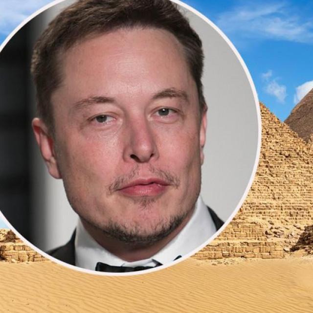 Piramide u Gizi i Elon Musk