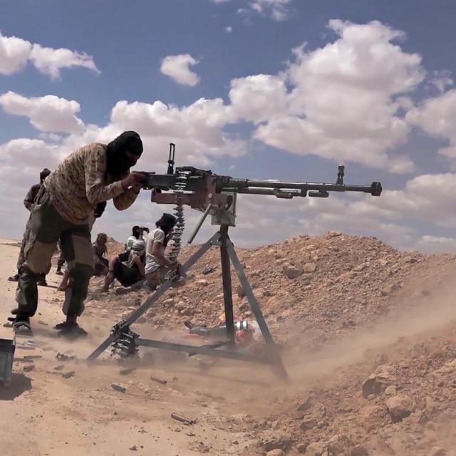 Ilustracija, džihadisti ISIS-a