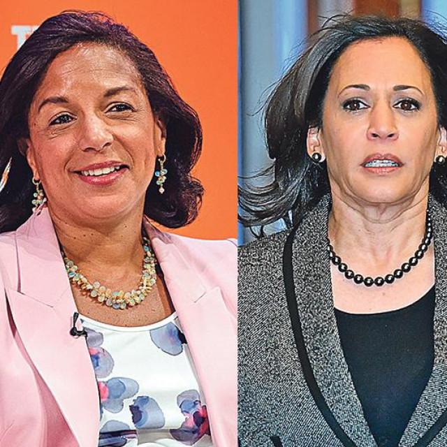 Karen Bass, Susan Rice, Kamala Harris