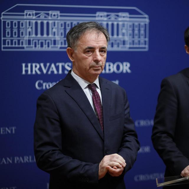 Milorad Pupovac i Boris Milošević