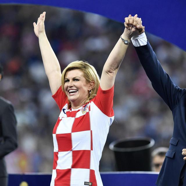 Kolinda Grabar Kitarovic, Emmanuel Macron