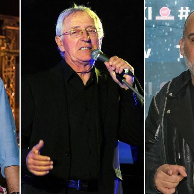 Petar Grašo, Oliver Dragojević, Tony Cetinski