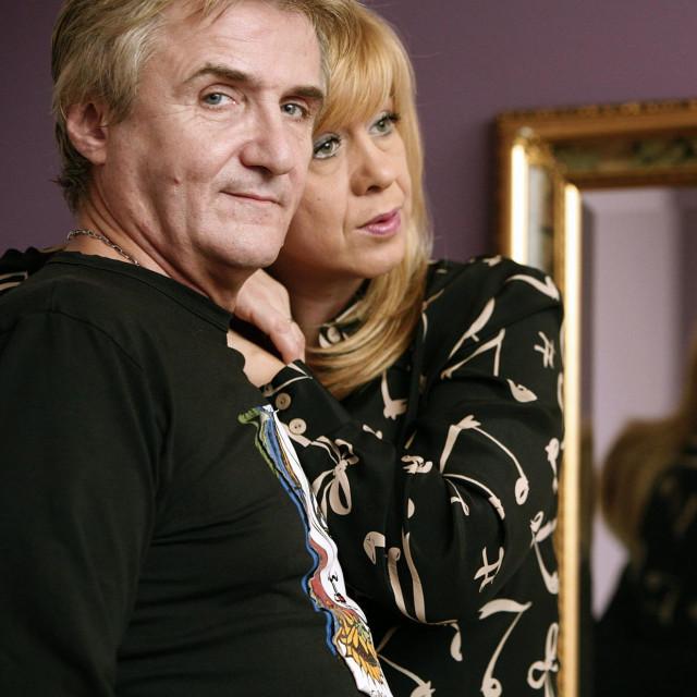 Rajko Dujmić sa suprugom Snježanom