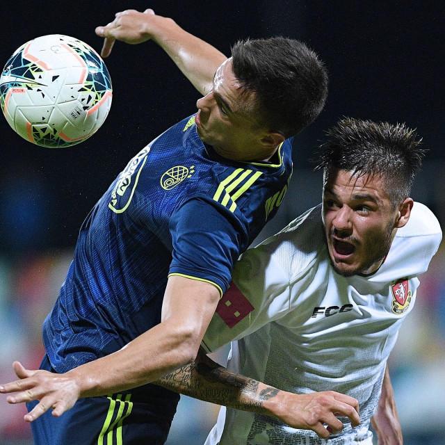 Nikola Moro u duelu s Kristijanom Lovrićem koji se također nada velikom transferu