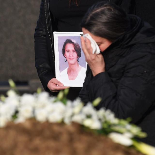Pogreb Jasmine Dominić