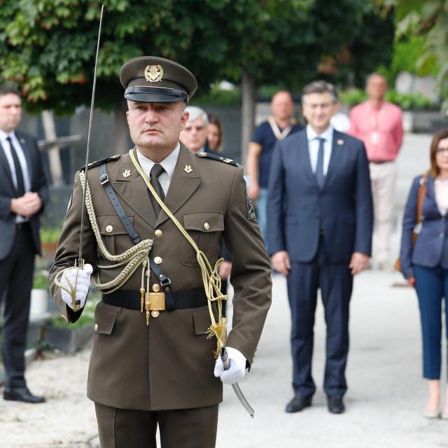 Andrej Plenković na Mirogoju