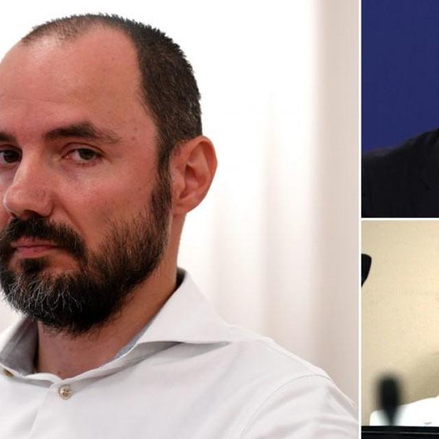 Boris Milošević, Aleksandar Vučić, Karolina Vidović Krišto