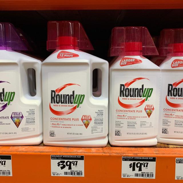 Herbicidi  Roundup koji sadrže glifosat