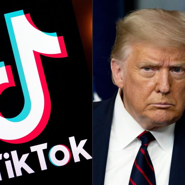 TikTok, Donald Trump