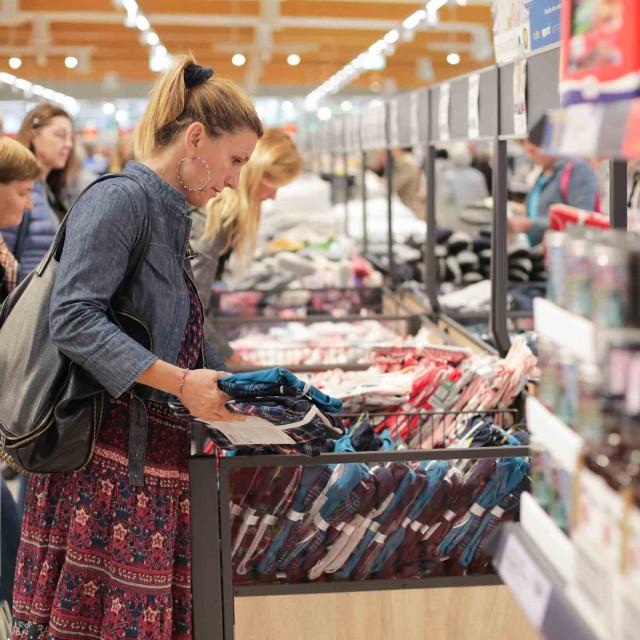 Kupnja u Lidlu