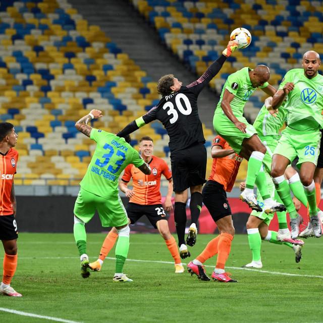 Dvoboj Šahtara i Wolfsburga u Kijevu