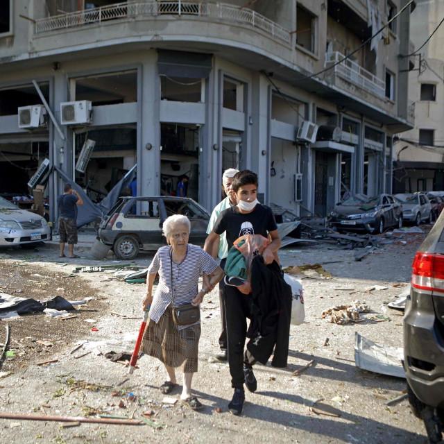Bejrut dan poslije eksplozija