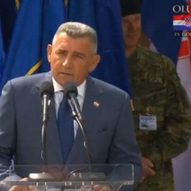 Ante Gotovina u Kninu