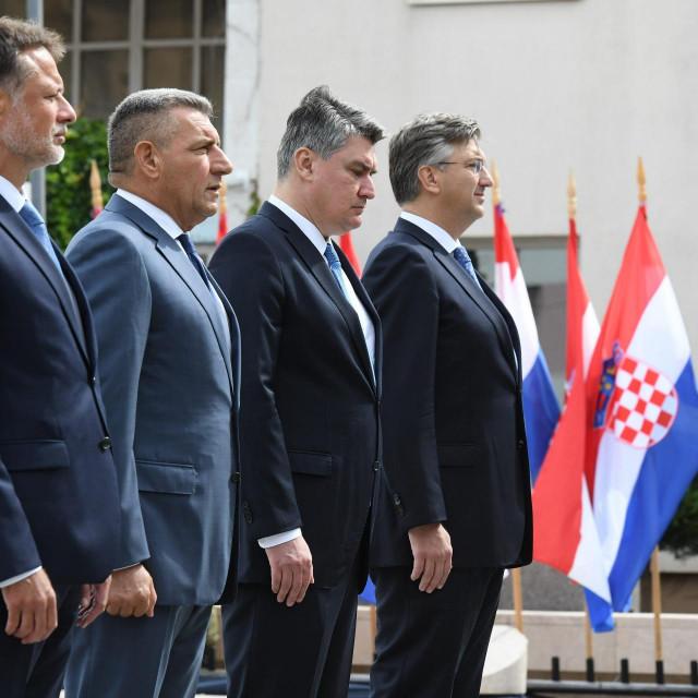 Gordan Jandroković, Ante Gotovina, Zoran Milanović, Andrej Plenković
