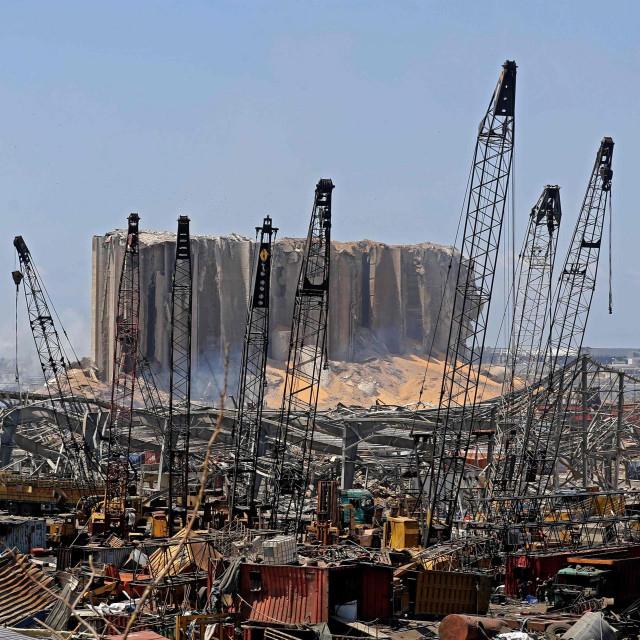 Bejrut poslije eksplozije