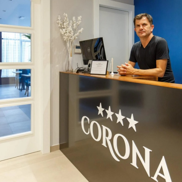 Mario Bašić, vlasnik hotela s četiri zvjezdice Corona