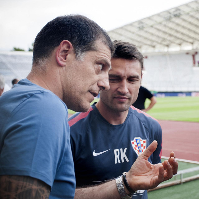 Niko Kovač, Slaven Bilić i Robert Kovač