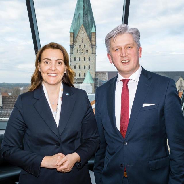 Marija Kolak i kolega Ansgar Käter