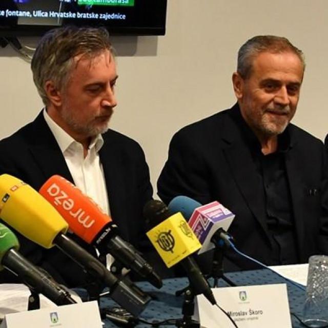 Miroslav Škoro i Milan Bandić