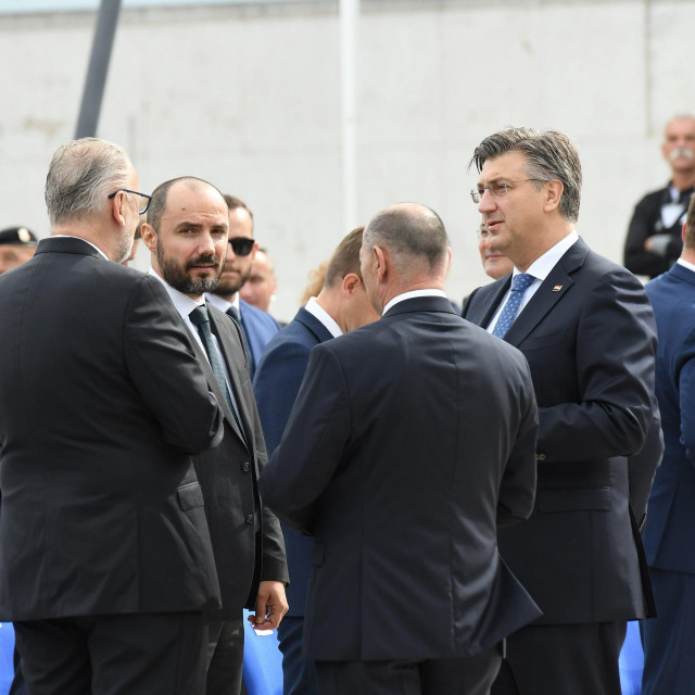 Boris Milošević, Andrej Plenković