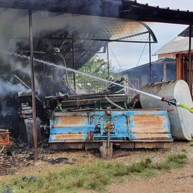 Požar u Vukovini