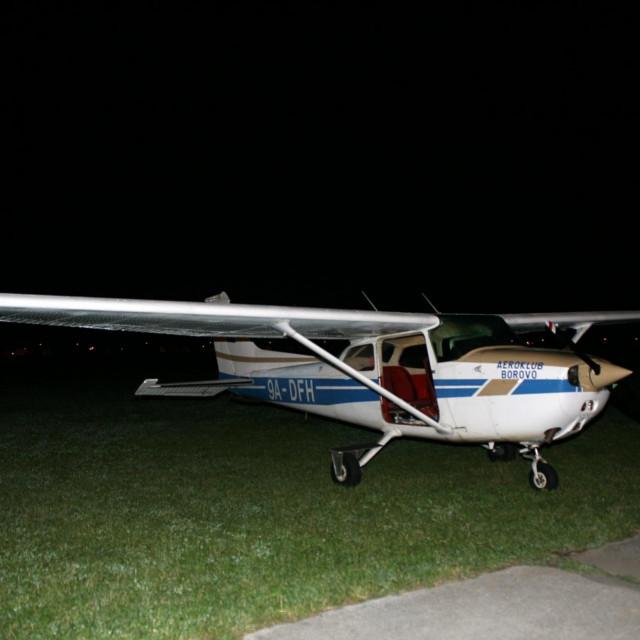 Zrakoplov iz kojega je Matija Knežević iskočio