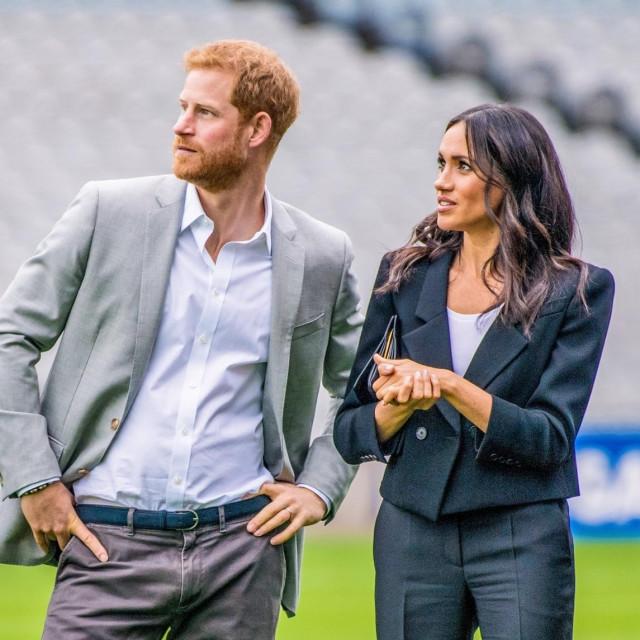 Princ Harry and Meghan Markle
