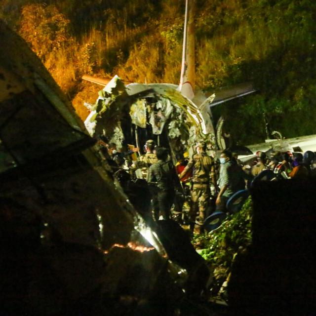 Zrakoplovna nesreća u Indiji