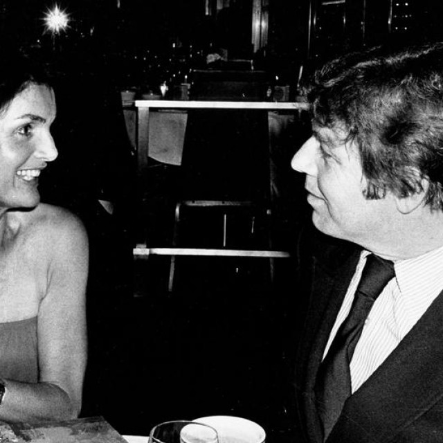 Jacqueline Kennedy Onassis i Pete Hamill