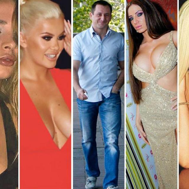 Anabela Šćekić, Nataša Šavija, Sanja Stanković, Mihajlo Maksimović, Soraja Vučelić, Mimi Oro i Božana Vujinović