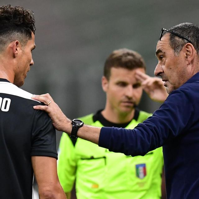 Maurizio Sarri oprašta se od svojih igrača