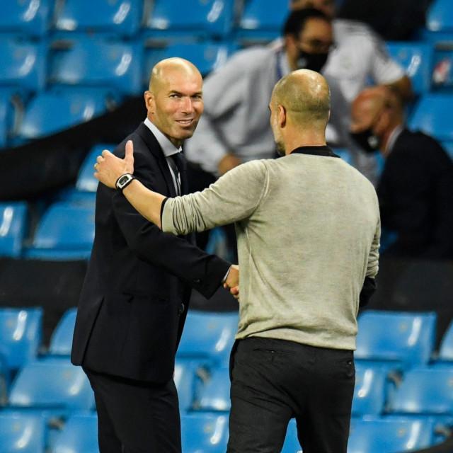 Zinedine Zidane i Pep Guardiola