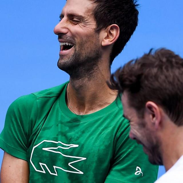 Novak Đoković i Stan Wawrinka