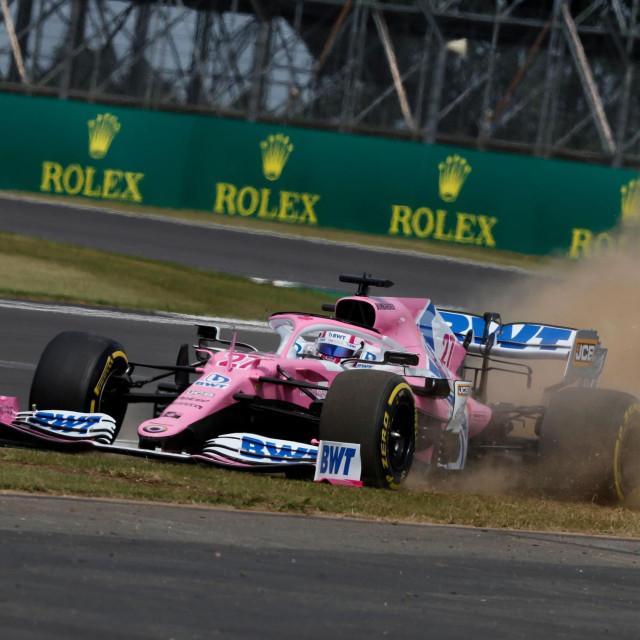 Nico Hulkenberg u 'rozom Mercedesu'