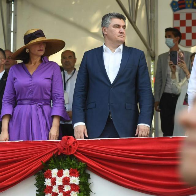 Sanja i Zoran Milanović