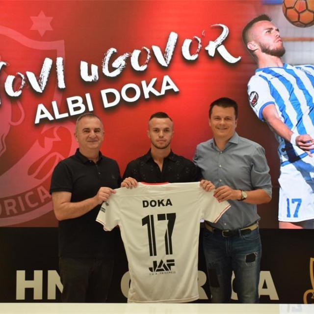 250 tisuća eura vrijednost je mladog albanskog igrača prema TM-u
