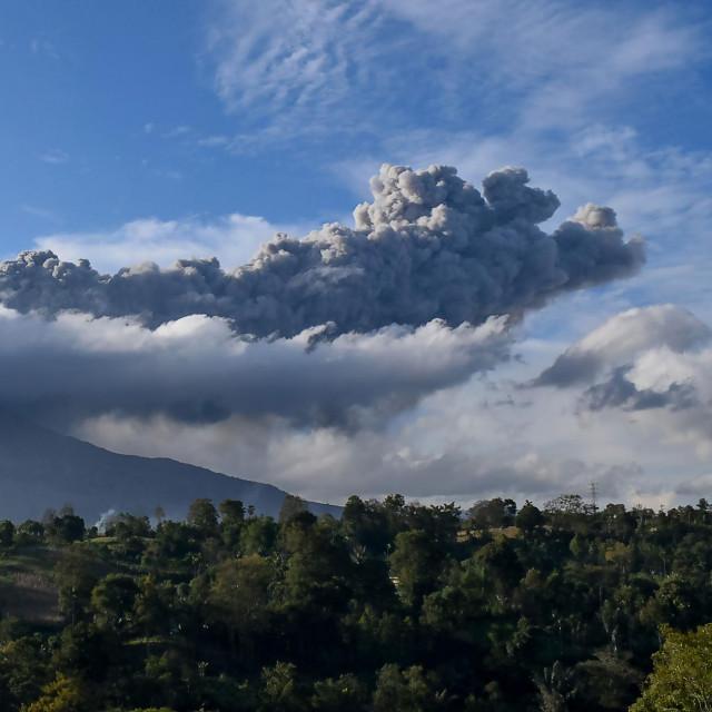 vulkan Mount Sinabung