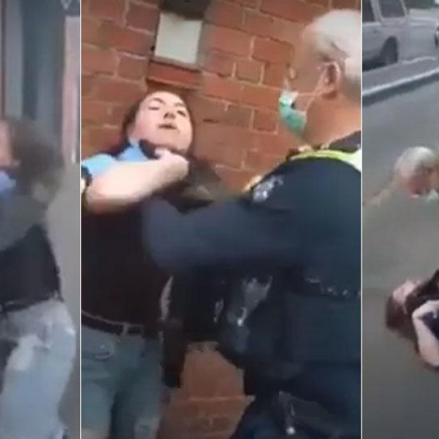 Brutalno uhićenje u Australiji
