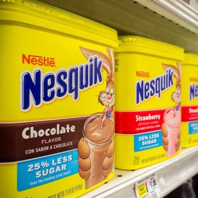 Popularni Nestleov Nesquik u supermarketu