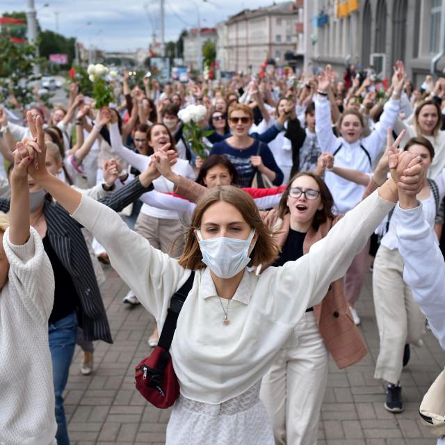 Prosvjedi u Minsku