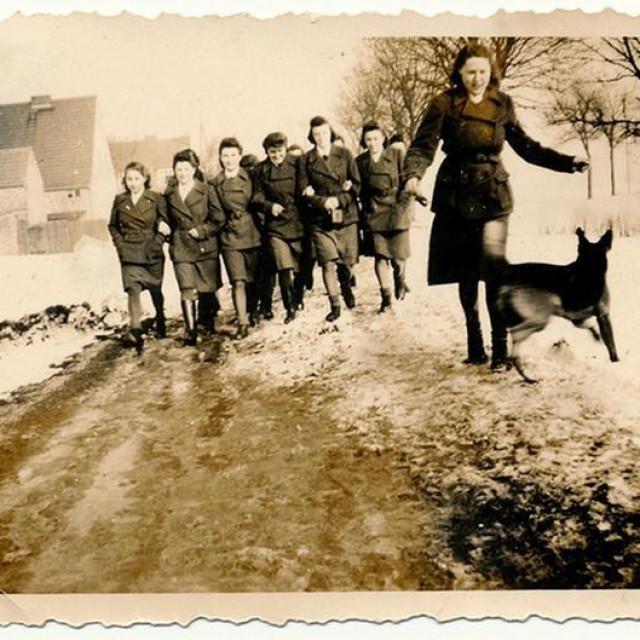 Čuvarice u logoru Ravensbrück