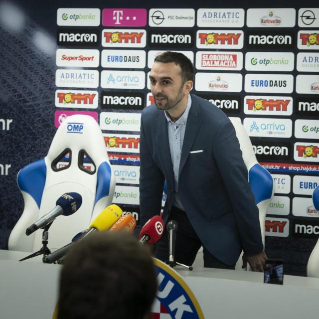 Sportski direktor Hajduka Ivan Kepčija
