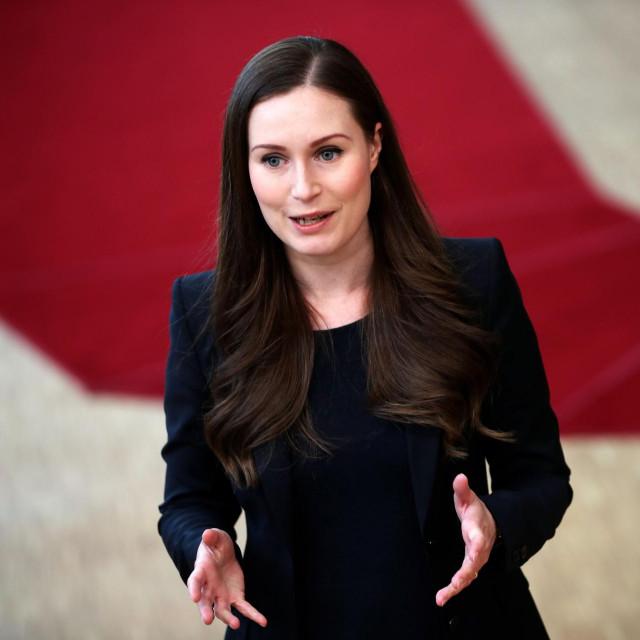 Finska premijerka Sanna Marin