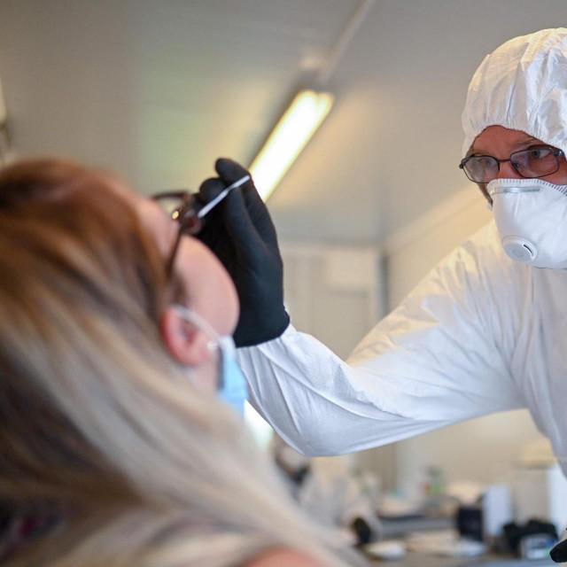 Testiranje na koronavirus u Dortmundu