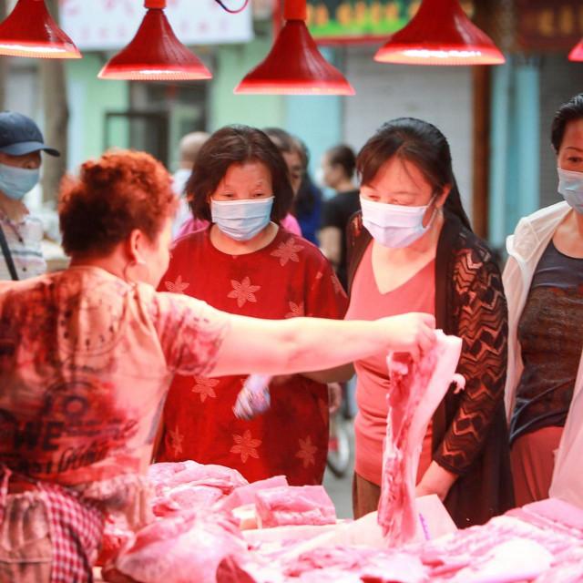 Kineska tržnica u Shenyangu u sjeveroistočnoj pokrajini Liaoning