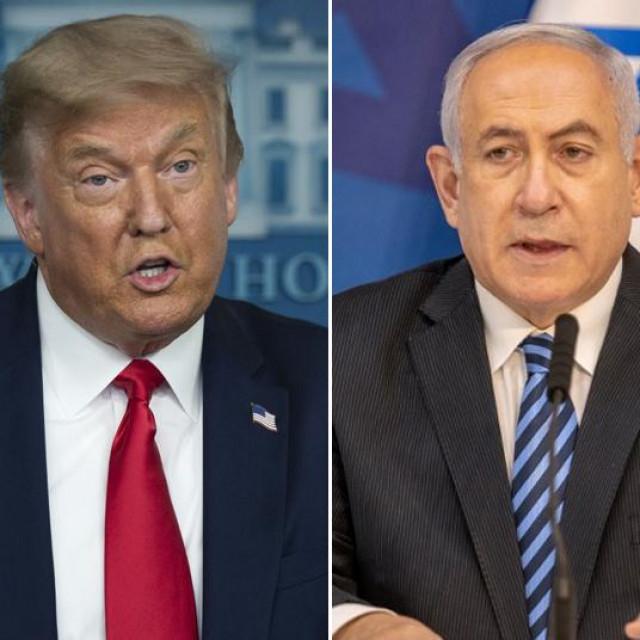Mohammeda Al Nahyana, Donald Trump, Benjamin Netanyahu
