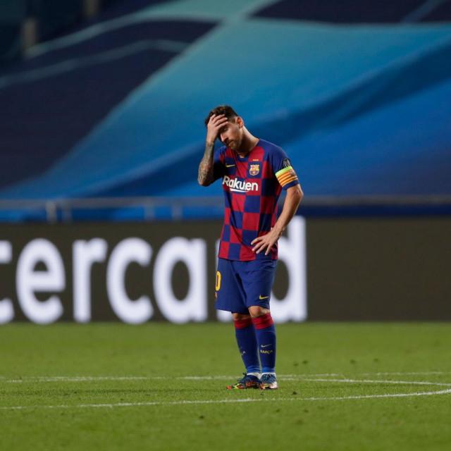 Lionel Messi tuguje
